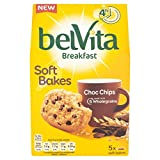 Belvita Breakfast Soft Bakes Choc Chip Biscuits, 5 x 50g