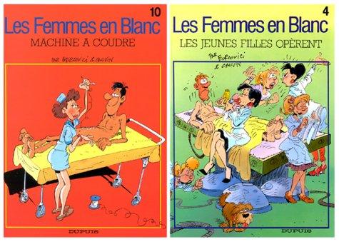2 BD pour le prix d'1 : Les Femmes en blanc, tome 10 + le tome 4 gratuit