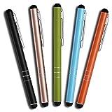Mobilinyi 5 Stück Premium Eingabestift Touchstift Stylus für iphone 6 5 4 4s