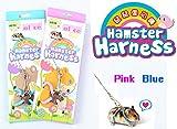 pranovo Verstellbares Hundegeschirr Leine Hamster Ratte Maus Eichhörnchen Sugar Glider Klein Animal Blau