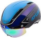 GIRO AIR ATTACK SHIELD Fahrradhelm schwarz/blau/purple S 51-55cm