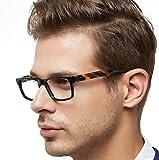OCCI CHIARI Gafas de hombre marco Montura de gafas Marco óptico de los gafas El marco de los Gafas se ajusta a la mayoría de la multitud …
