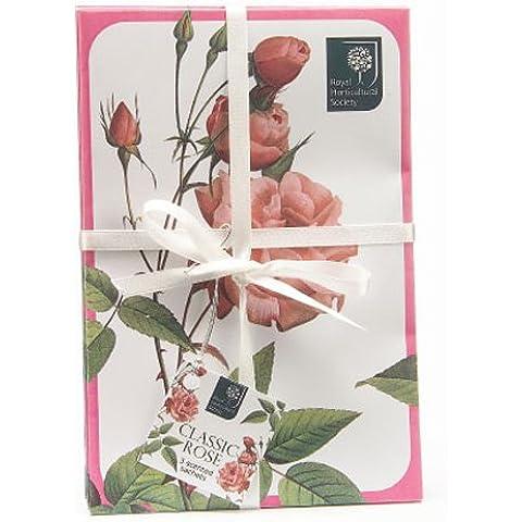 Clí¡sica rosa perfumado bolsitas