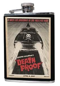 Grindhouse Flachmann Death Proof Car aus Edelstahl