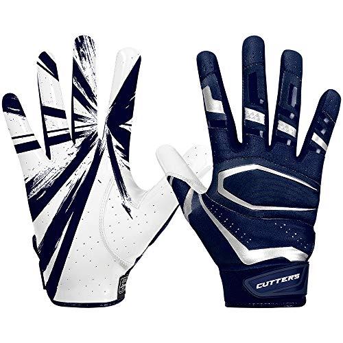 Cutters American Football Receiver Gloves S452 Rev Pro 3.0 Design 2018 - Navy Gr. XL
