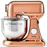 VonShef 1200W Copper Die Cast Food Stand Mixer – 5 Litre Mixing Bowl