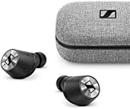 Sennheiser MOMENTUM True Wireless Bluetooth oortelefoon, zwart/chroom