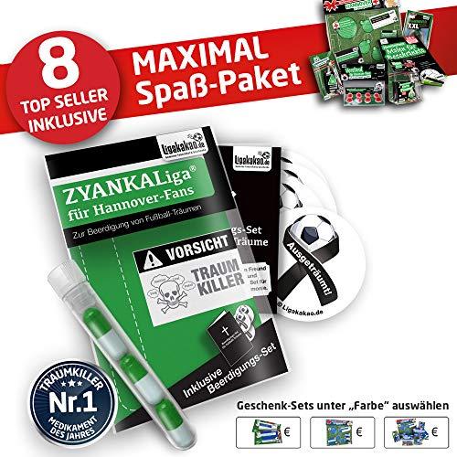 Hannover Handtuch ist jetzt das MAXIMAL SPAß Paket für H 100 Fans by Ligakakao.de duschtuch Emblem Logo Soft one Size Baumwolle weich saugstark grün-weiß