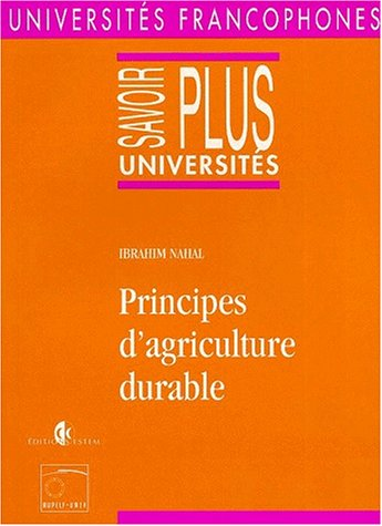Principes d'agriculture durable