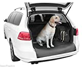 Car Estate Boot Mat Cover Floor Liner Protector Pet Dog Tools High Walls Bumper Overlap Anti Slippery Foamed Leatherette Heavy Duty Waterproof