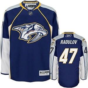 NHL Eishockey Trikot/Jersey NASHVILLE PREDATORS Alexander Radulov #47 navy in LARGE (L)