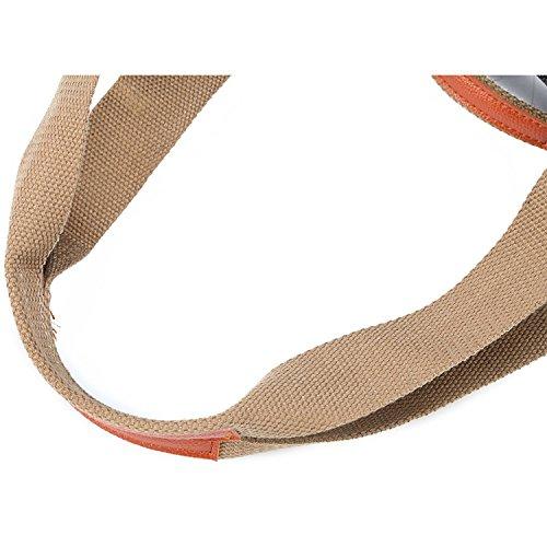 Borsa da vendere alla borsa del Tote della spalla della maniglia di giorno della borsa quotidiana della tela di canapa di Hobo delle donne delle donne di Myleas Grigio