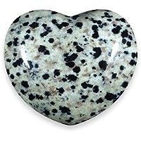 Dalmation Jasper Crystal Heart - 4.5cm by CrystalAge preisvergleich bei billige-tabletten.eu
