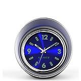 Susika haute Horloge à quartz de voiture Tableau de bord analogique Table horloge avec lumière de nuit Préfet pour décorer