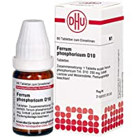 Ferrum Phosphoricum D 10 Tabletten 80 stk preisvergleich bei billige-tabletten.eu