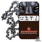 Chaine pour ECHO CS520 0,325 1,3 mm 56 maillons. Kerwood - Pièce neuve