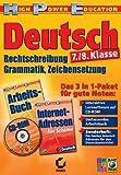 Produkt-Bild: Deutsch 7./8. Klasse - Grammatik+Rechtschreibung
