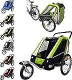 PAPILIOSHOP LEON Anhänger Kinderwagen 360° Drehbar Caddy für den Transport