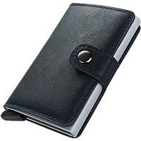 TEECY Porta Carte di Credito da Portafoglio per Carte di Credito e Banconote con Protezione RFID contenere fino a 8-10…