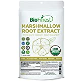 Biofinest Marshmallow Root Extract Powder - USDA Certified Organic Gluten-Free Non-GMO Kosher Vegan Friendly - Supplement for Immune Health, Digestion, Weight Management (100g)