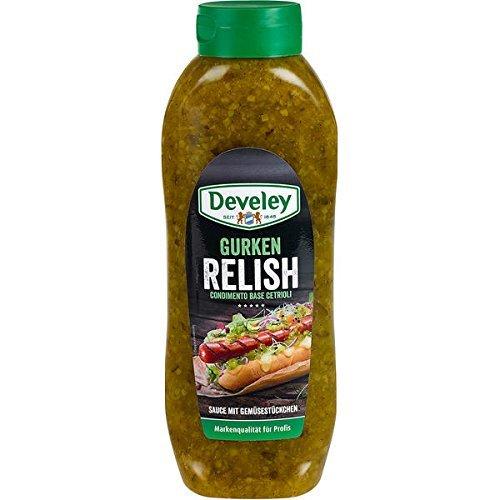 Develey Gurken Relish, 1er Pack (1 x 953 g) Relish