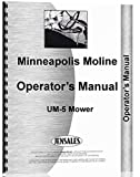 Minneapolis Moline UM-5 cortacésped manual de operadores