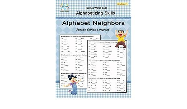 Buy Alphabet Neighbors: Puzzles, Alphabetizing Skills