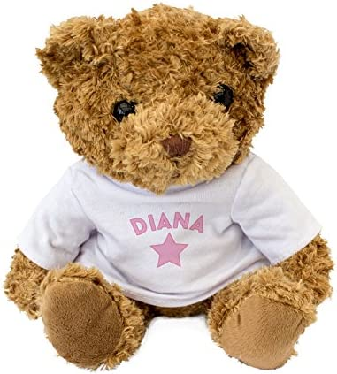NEW - DIANA DIANA DIANA - Cute And Cuddly Teddy Bear - Gift Present Xmas Birthday 393f89