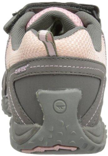 Hi-tec Tt Ez Sport Waterproof, Chaussures de Randonnée Hautes Fille Multicolore (hot Grey/candy/bubblicious)