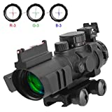 Aomekie AO5007 Optics 4x32 Red/Green/Blue Triple Illuminated Rapid - Best Reviews Guide