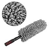 #10: Elcara 1 Piece Multipurpose Microfiber Cleaning Duster - For Household, Cars, Window, Furniture, etc,