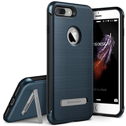 Polycarbonat-guard (VRS Design Duo Guard Edition kompatibel mit Apple iPhone 7 Plus | Polycarbonat Handy-hülle in Steel Blue | Schutz-Cover Smartphone-Case)
