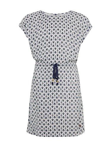 TOM TAILOR für Mädchen Kleider & Jumpsuits Gemustertes Kleid Blue, 134