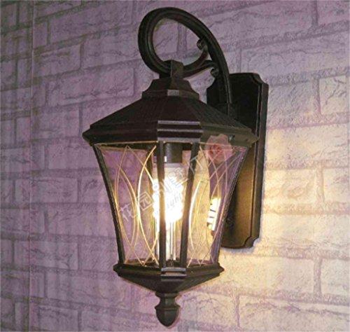 ALUK-Lampe de mur extérieur lampes de jardin balcon lumières européennes Rainproof antirouille applique murale