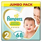 Купить Pampers Premium Protection Größe 2, 4-8kg, 68 Windeln