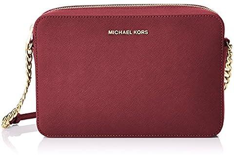 Michael Kors Crossbodies 32S4GTVC3L, Sacs bandoulière femme, Morado (Mulberry), 1.9x10.199999999999999x22.9 cm (W x H L)