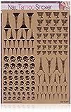 Sticker-Gigant Nailart Nail Tattoo - XL Set