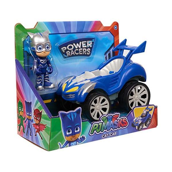 PJ Masks Power Racer Vehicle & Figure - Catboy 2