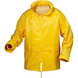 Craftland Tamaño Mediano Chaqueta Impermeable Color Amarillo