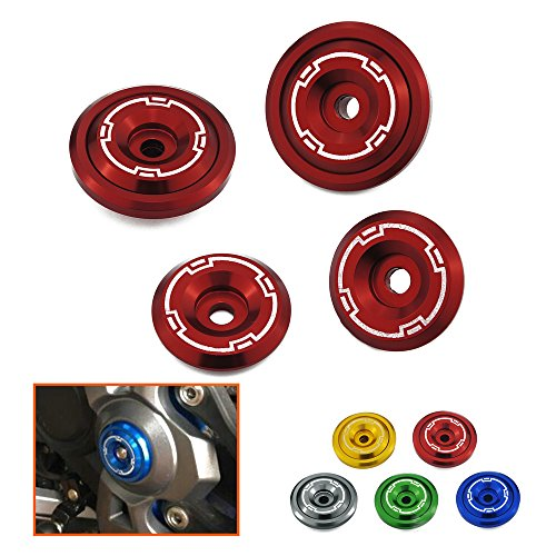 Heinmo - Embellecedores para chasis de aluminio CNC - Tornillos 5M -...