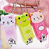Tiny Toes Cute Nail Cutter (Multi Color 1 Pcs)
