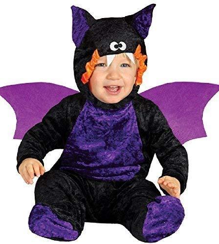 Kostüm Fledermaus Unheimlich - Fancy Me Baby Mädchen Jungen Frucht Vampir Fledermaus Süß Halloween Horror Unheimlich Tier Karneval Kostüm Kleid Outfit 6-24 Months