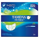 Tampax Pearl Super Applicator Tampons (36)