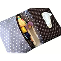 Windeltasche Wickeltasche mit Namen personalisierbar handmade Geschenk zur Geburt