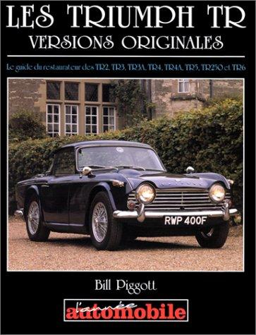Les Triumph TR (versions originales)