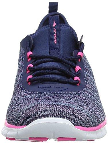 Gola Damen Lovana Outdoor Fitnessschuhe Blau (Navy/Pink)