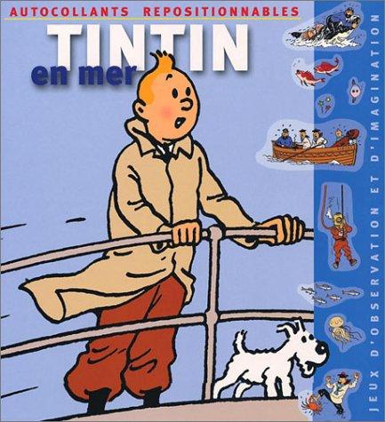 Tintin en mer (autocollants repositionnables) par MOULINSART