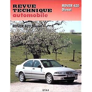 Revue technique de l'Automobile numéro 598.1 : Rover 420 diesel