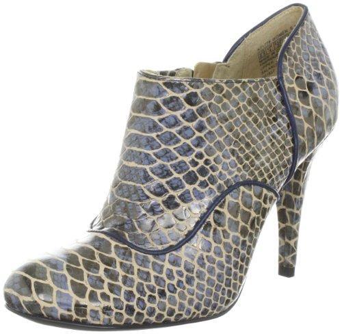 Rockport Presia Zip Shootie K72314, Scarpe col tacco donna Blu (Blau (Blue exotic))