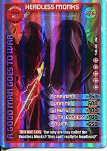 Doctor Who Monster Invasion Extreme Ultra Rare Card #276 Headless Monks